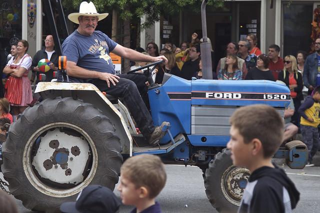 Happy Tractor Man