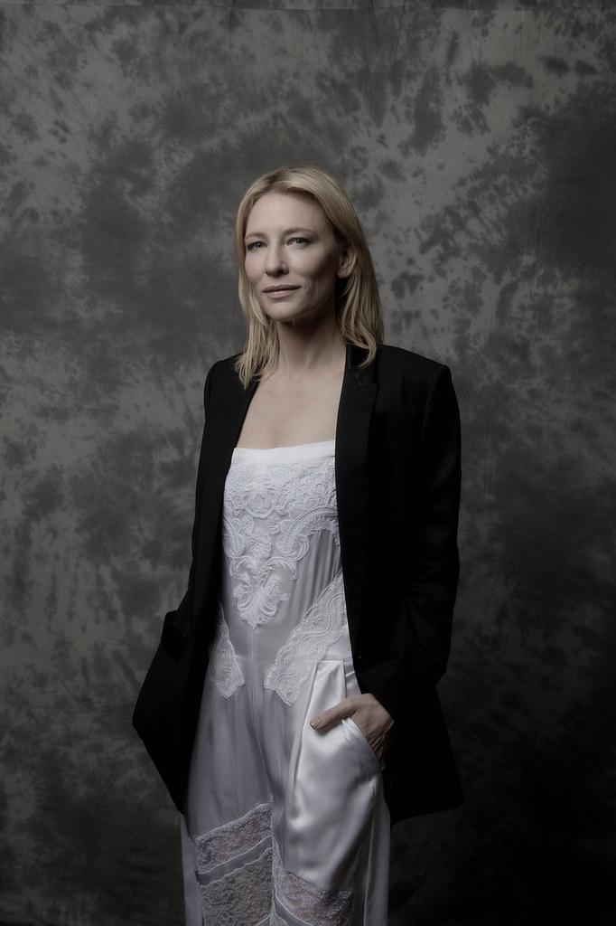 Кейт Бланшетт — Фотосессия для «Кэрол» на «BFI» 2015 – 4