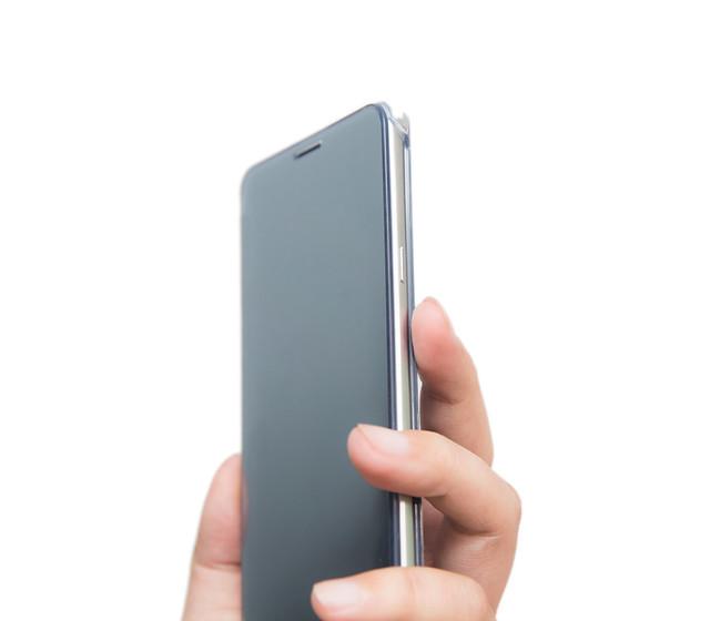 Note 5 原廠保護配件分享 – 全透視感應皮套 / 星鑽薄型背蓋 @3C 達人廖阿輝