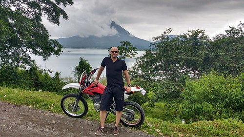 Day 8 - Rainforest Riding, Arenal Volcano by Big Al!