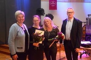 Årets eldsjälar Hanna Törefors och Lillemor Wickström
