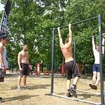 GWP na otwarciu siłowni plenerowych w Rembertowie 28-czerwca-2014