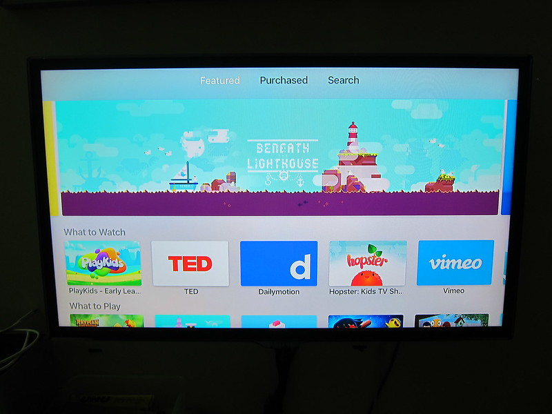 Apple TV (4th Generation) - App Store