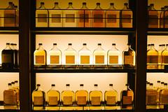 Yamazaki whisky library