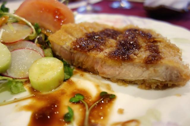Pork cutlet at Tomiy Fukui Japan 20151117