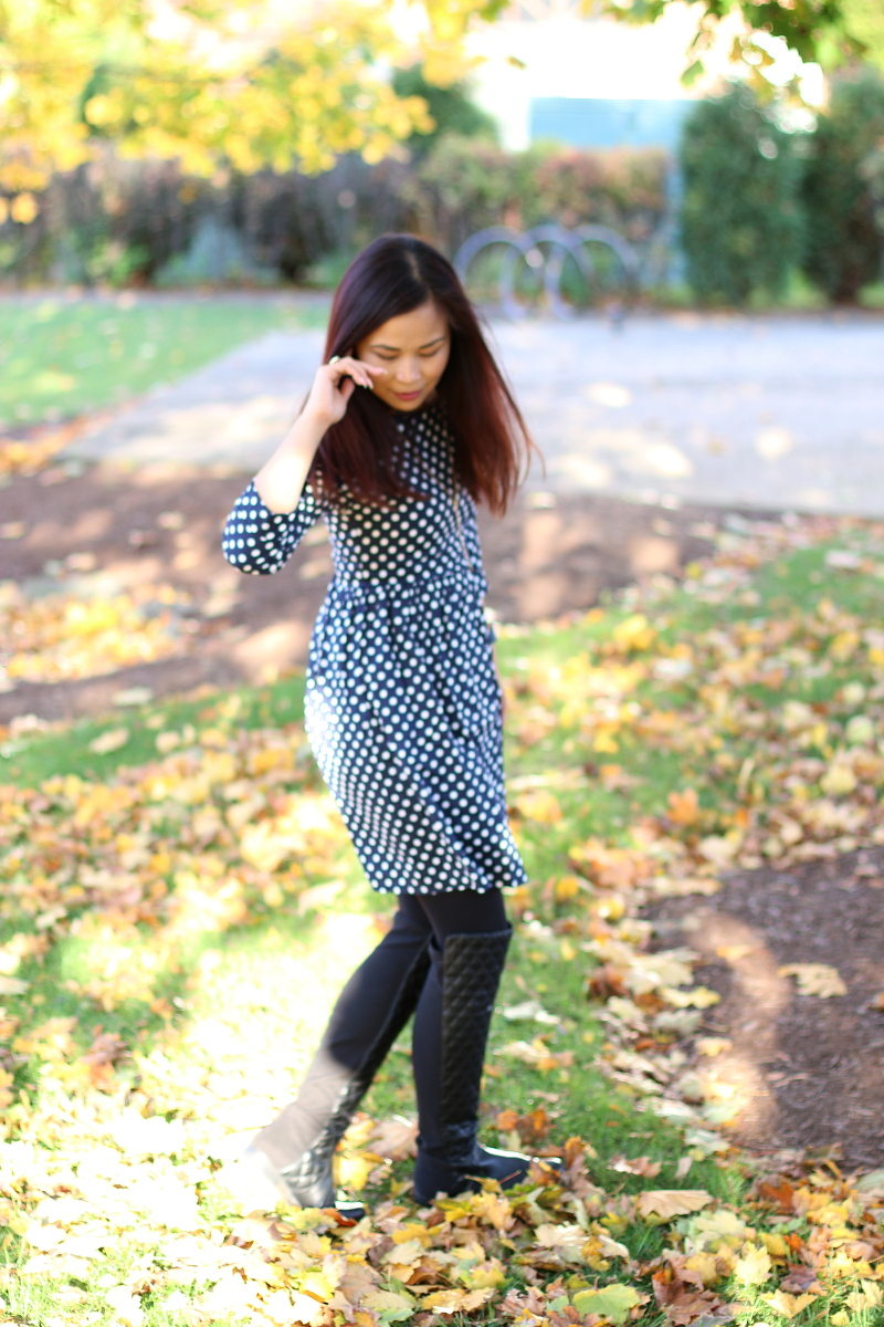 Polka-Dot-Dress-Lucluc-shop-over-the-knee-boots-5