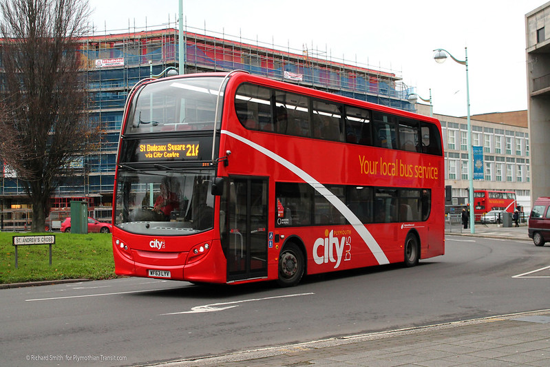 Plymouth Citybus 511 WF63LYV