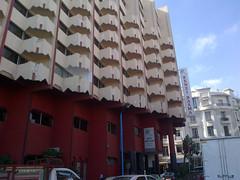 Retro hotel architecture