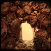 #Homemade Mini #Meatballs & #Mushrooms #CucinaDelloZio - tbsp butter