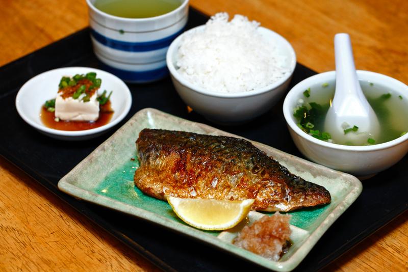 tenka daiichi Grilled-Mackerel-Set
