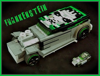 Hot Wheels Frankenstein Hot Rod