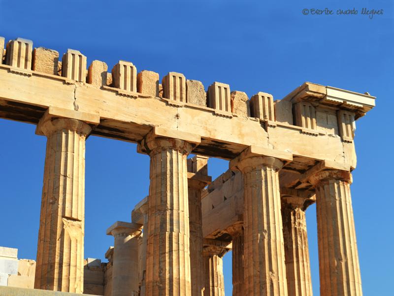 Dertalle del Partenón