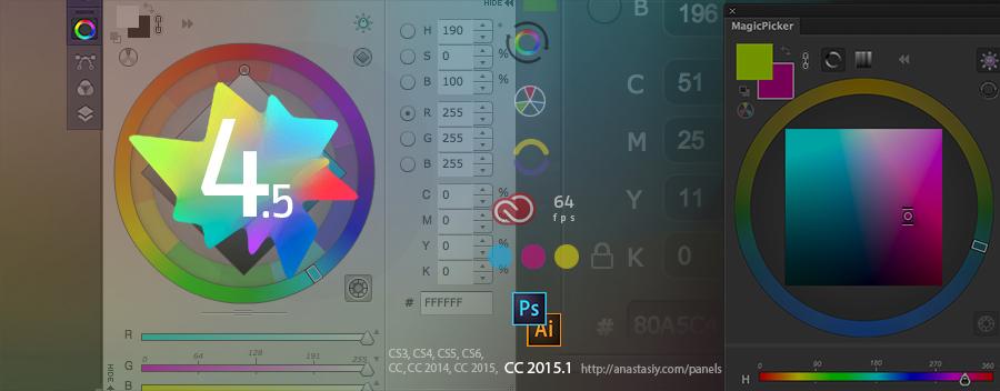 Cgtalk Magicpicker 4 5 Updates Color Wheel Support In Photoshop