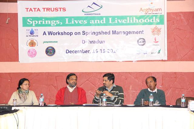 "Two-day workshop on ""Water springs of Uttarakhand"""