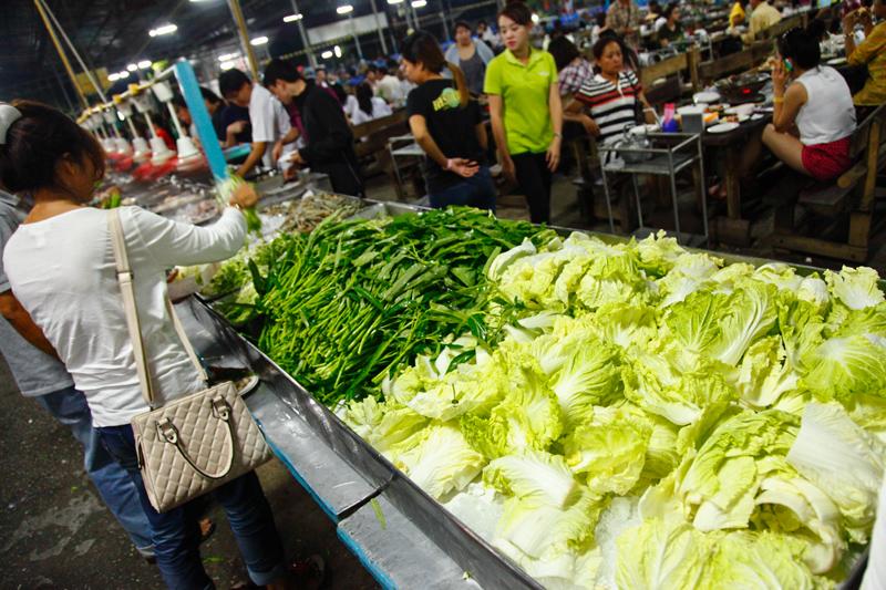 Sukontha Buffet Raw Vegetables