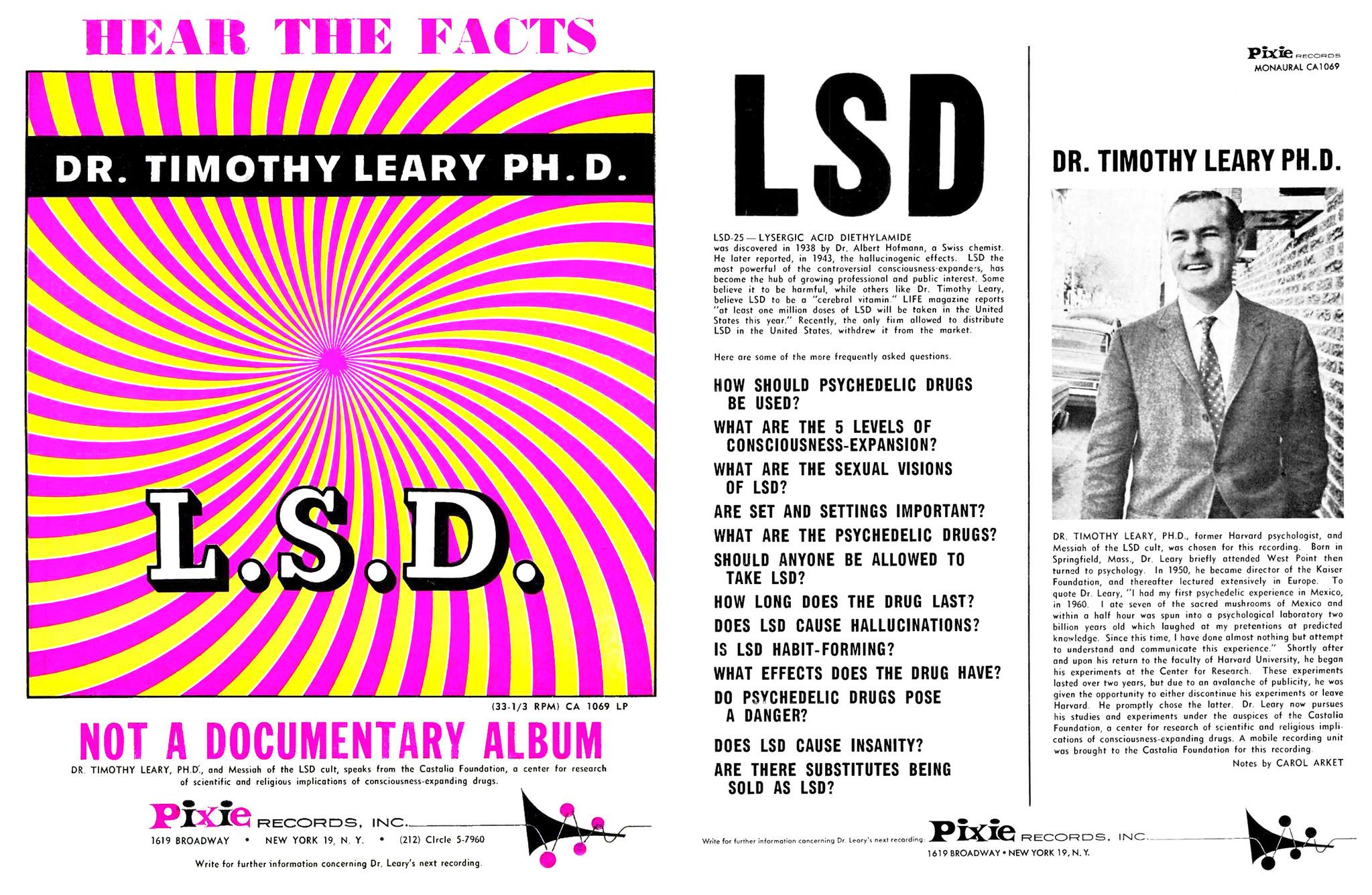 1966 Timothy Leary - LSD