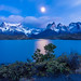 Dawn in Torres del Paine by inkasinclair