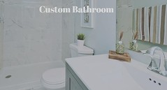 Custom Bathroom http://buff.ly/2ePo3Sx Silver Spring Maryland Montgomery County #Beautiful #Renovation Five Total Bedrooms Three Full Baths