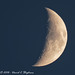 Waxing Crescent Moon by dcstep