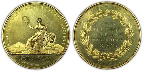 Gilt medal