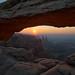 Mesa Arch Sunrise by dbushue