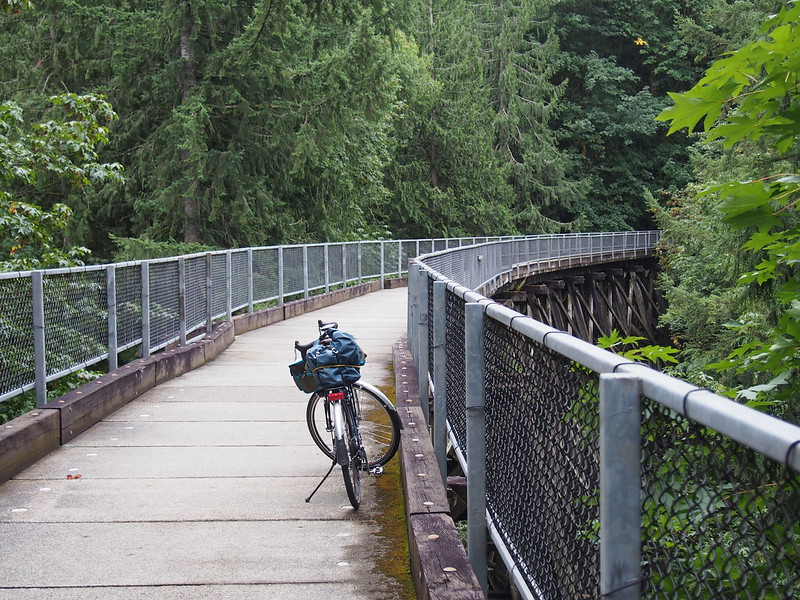 Snoqualmie Valley Trail: Tokul Creek Trestle