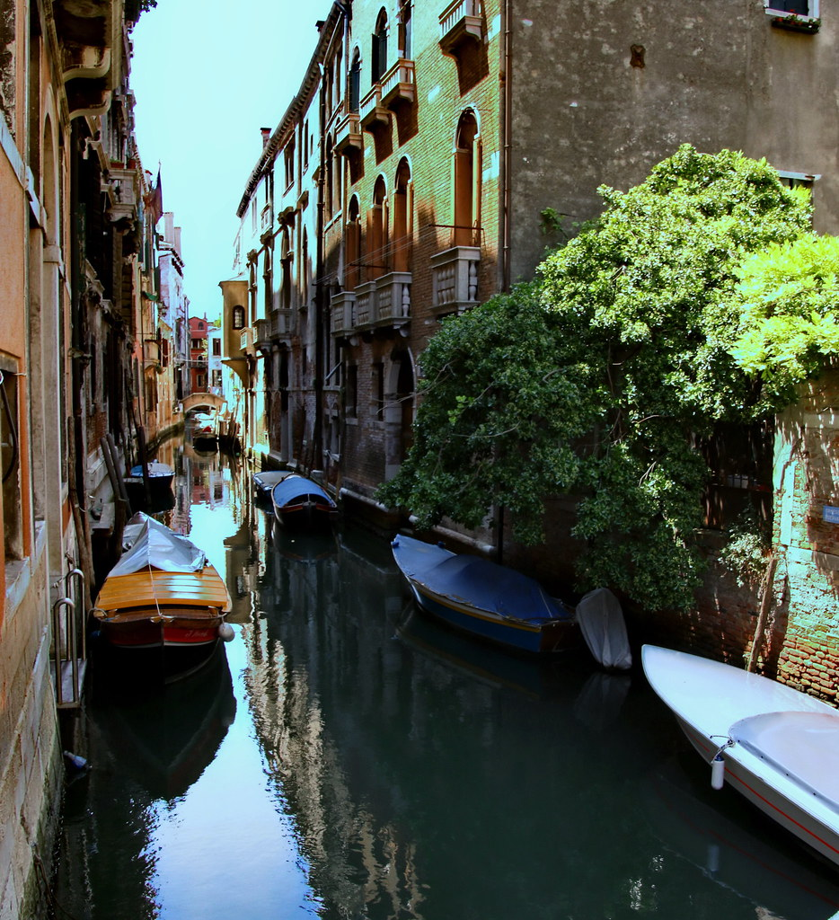 Venezia anonima, silenziosa, poco frequentata, quasi sconosciuta...