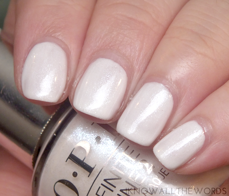 OPI Infinite Shine Soft Shades 2015 Pearl of Wisdom