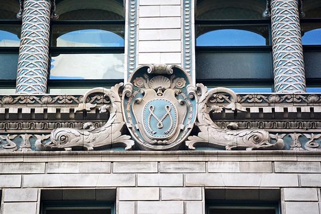 Matson Building detail