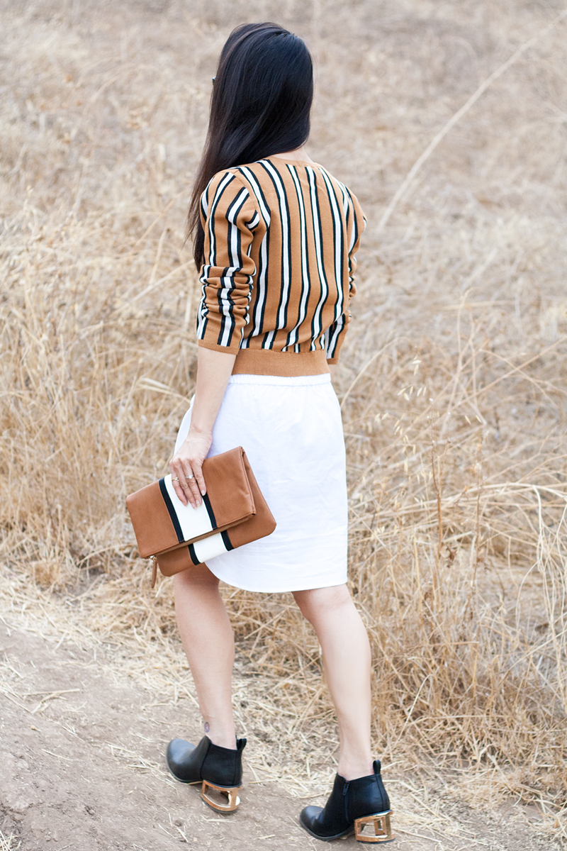 08-stripes-sweater-clutch-cutout-booties-sf-fashion-style