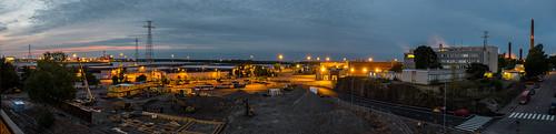 panorama finland lights evening fuji fujifilm hdr kotka fujifilmxt10