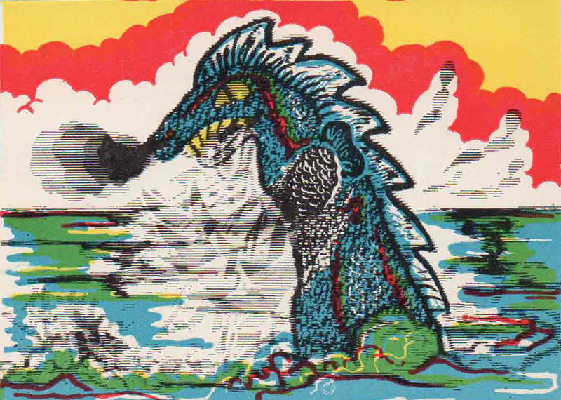 Monster Magic Action Trading Cards (1963) 23