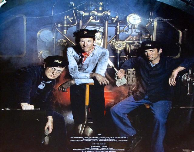 "XTC THE BIG EXPRESS 12"" LP VINYL"