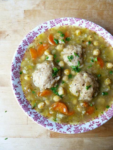 Dumpling stew