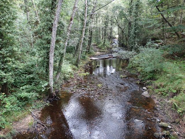 Río Loio en el PR-G 14 Ruta do Loio