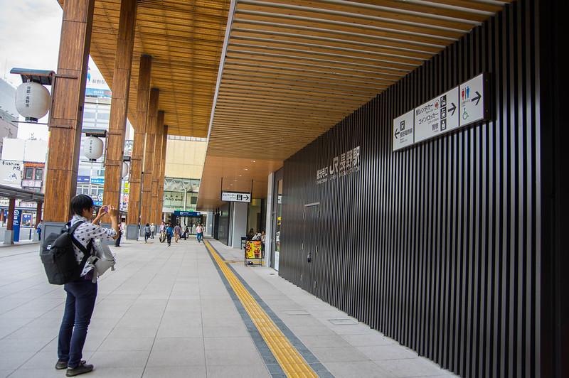 長野駅 #「しあわせ信州ふるさと商品」取材ツアー