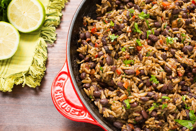 Gallo pinto costa rican beans and rice striped spatula gallo pinto costa rican beans and rice forumfinder Image collections