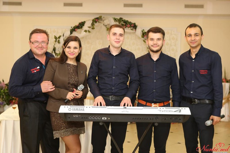 Група MODERN из Кишинева.