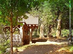 Pavilion by Lake