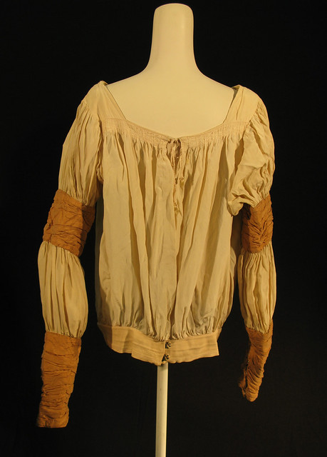 Shirt worn by Christopher Gable as Romeo in Act I scene 6 and Act III scenes 1 and 4 of Romeo and Juliet (1965) © ROH