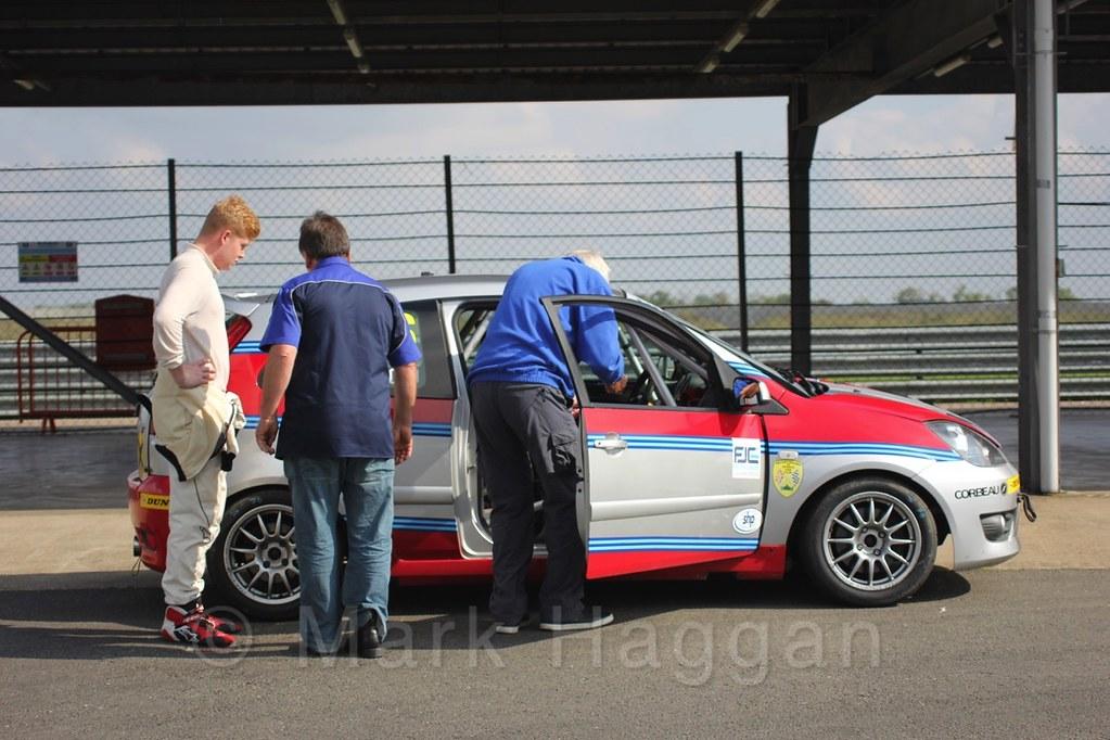 Race 1, Fiesta Junior Championship, Rockingham, Sept 2015