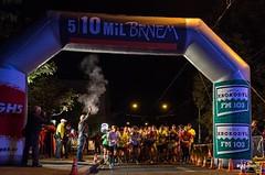 Nočních 10 mil Brnem zvládli opět po roce nejrychleji Kučera a Fořtová