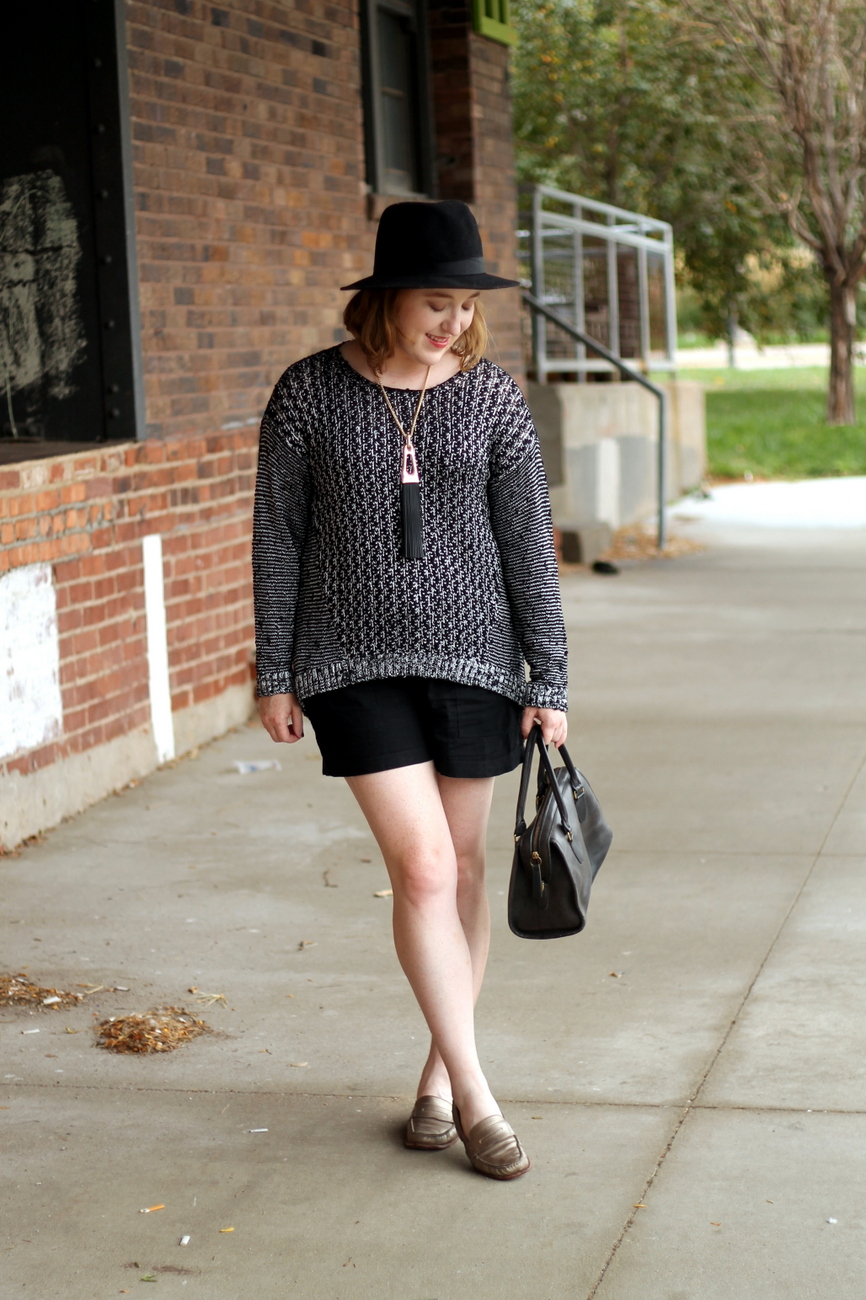 Shorts, Meet Sweater | Re-Mix-Her