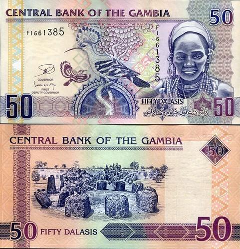 50 Dalasis Gambia 2013
