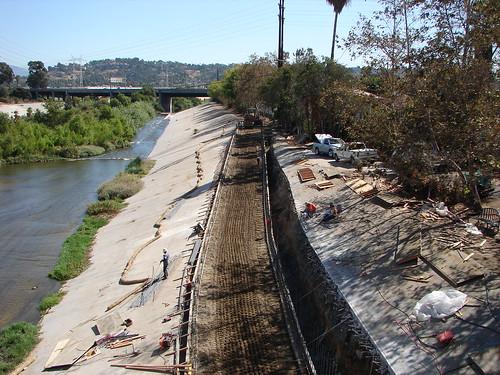 LAR Bike Path Construction Tour