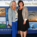 Executive Director Gillian Winter and Monika Pieren from Breitling