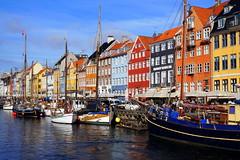 Nyhavn Waterfront, Copenhangen