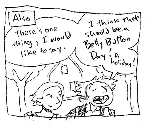 October 3 - Belly Button