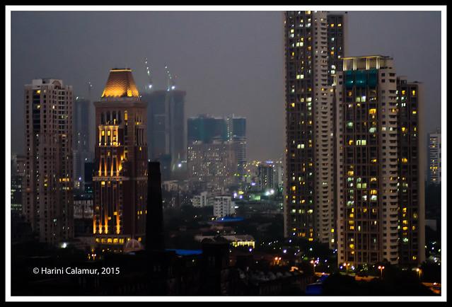 Dusk approaches - mumbai 2