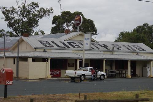 The Blighty Pub near Deniliquin, NSW.
